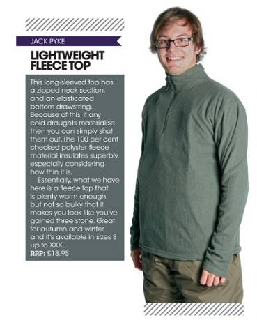 Jack Pyke Light Weight Fleece