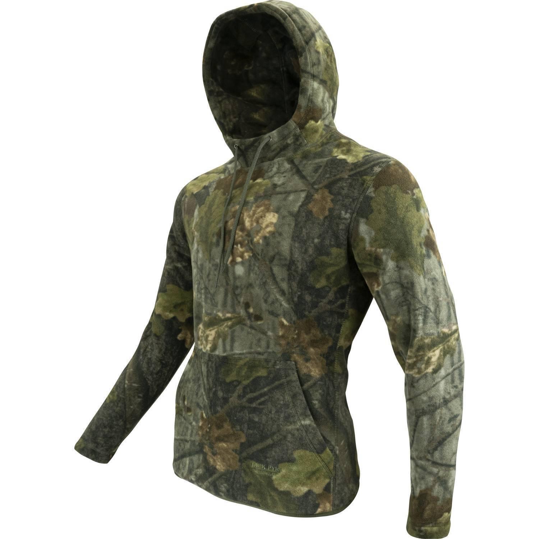 Jack Pyke Fleece Shooting Mitts Green Size XL