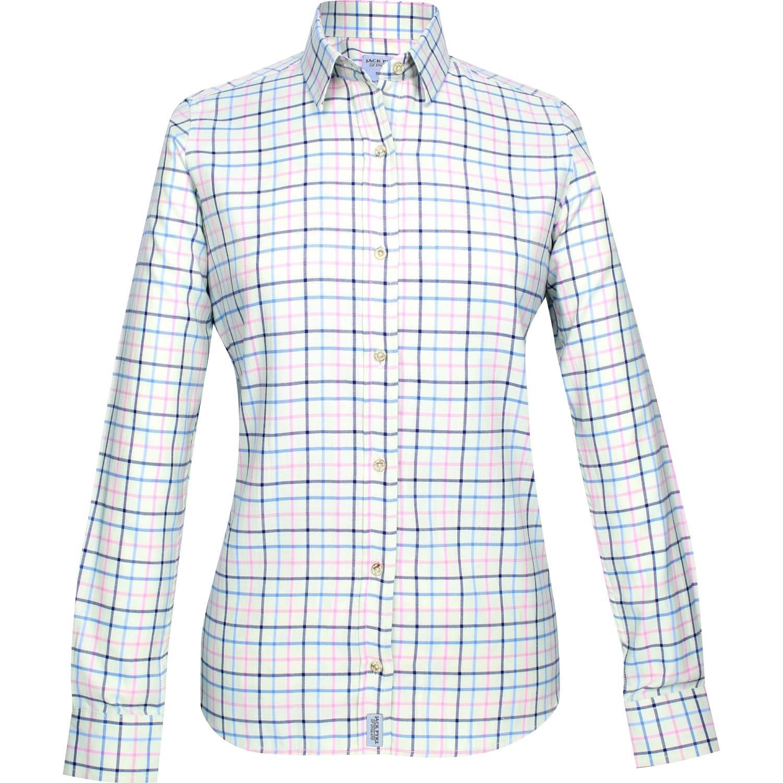 Jack Pyke Ladies Countryman Shirt Large Check Navy