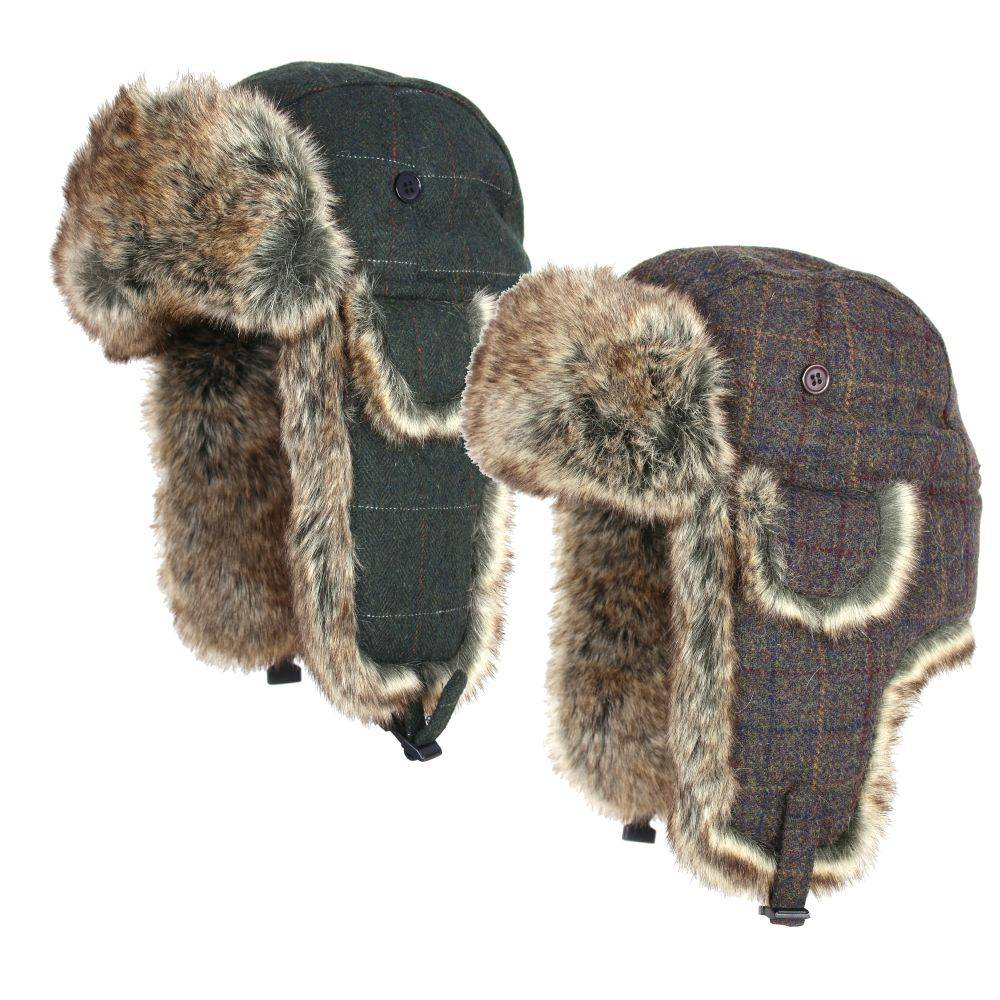 26e7f8a24747b Jack Pyke Wool Blend Trapper Hat