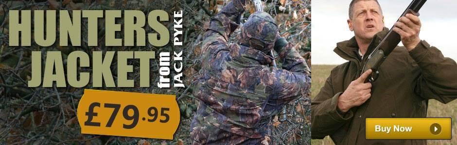 Jack Pyke Hunters Jacket  Colour Options