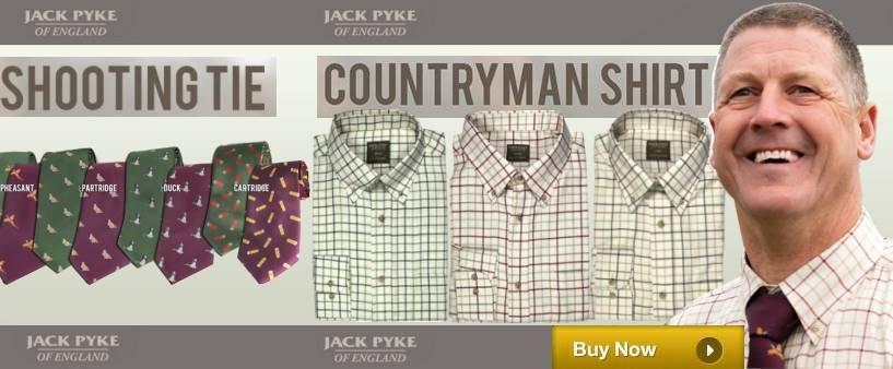 Jack Pyke Shirt & Tie