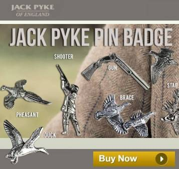 Jack Pyke Pin Badge
