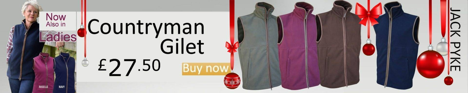 Jack Pyke Fleece Gilet