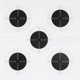 25 Yard Targets