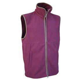 Fleece Jacket Burgundy M