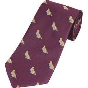 Wine Tie Partridge