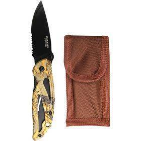Camo Lock Knife