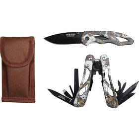 Camo Multi Tool & Knife Set