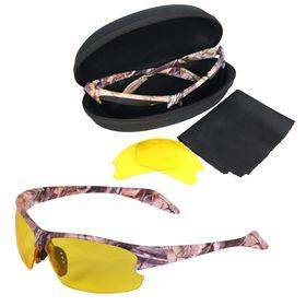 Forest Brown Camo Glasses