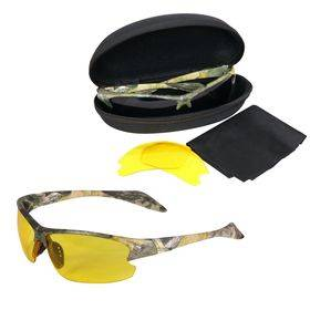 Forest Green Camo Glasses